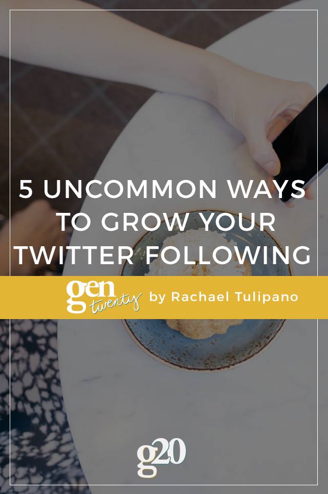 5 Uncommon Ways to Grow Your Twitter Following Into Quality Relationships