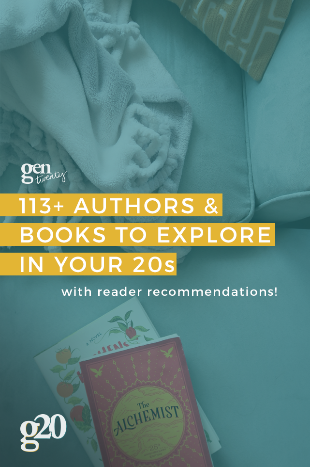 113+ Authors and Books To Explore In Your 20s