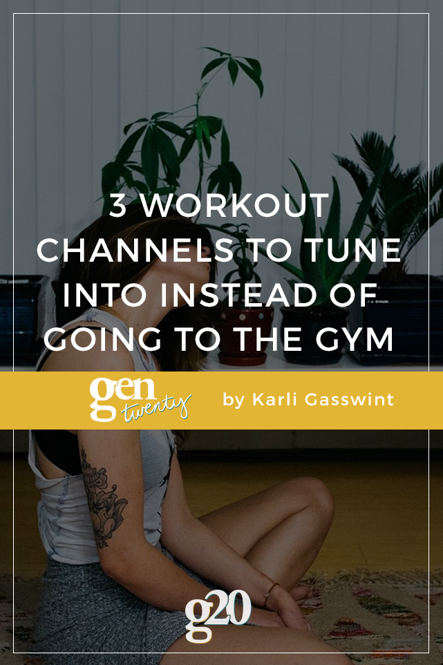 No time to get to the gym? Work out at home instead!