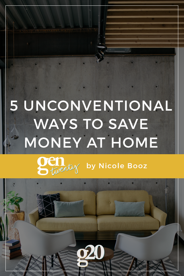 5 Unconventional Ways To Save Money at Home