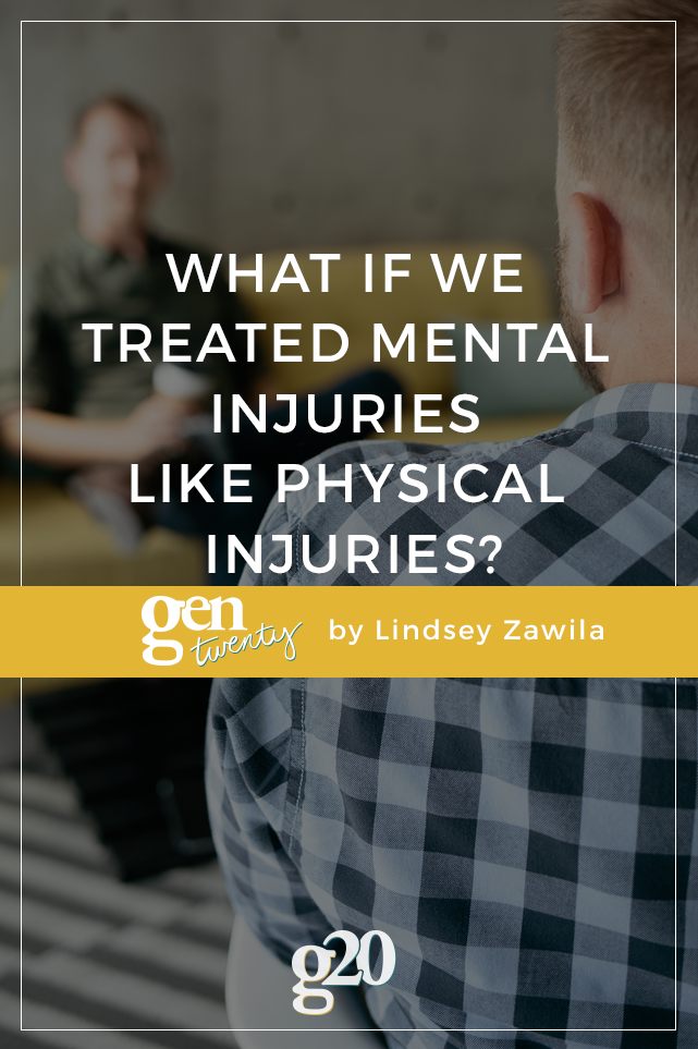 What If We Treated Mental Injuries Like Physical Injuries?