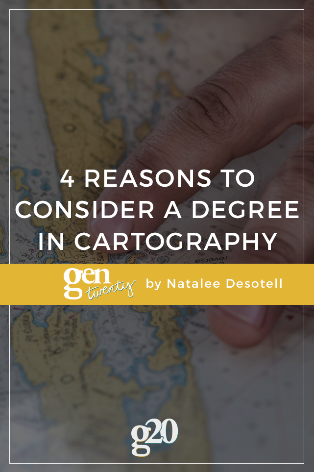 Why I'm Going To Grad School For GIS and Cartography