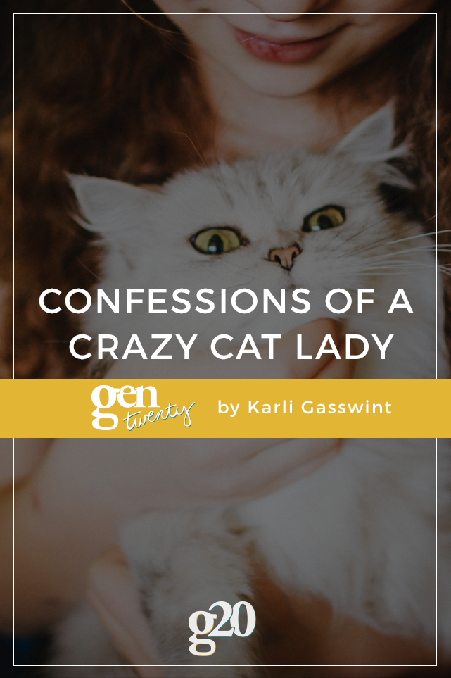 Confessions of a Crazy Cat Lady