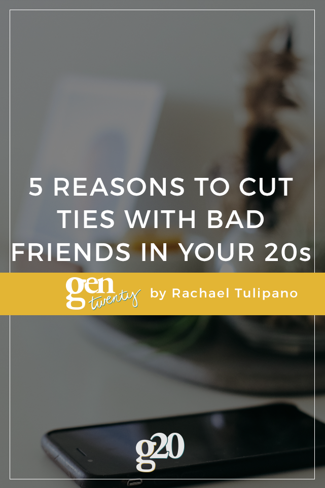 5 Reasons To Cut Ties With Others And Focus On Yourself In Your Twenties