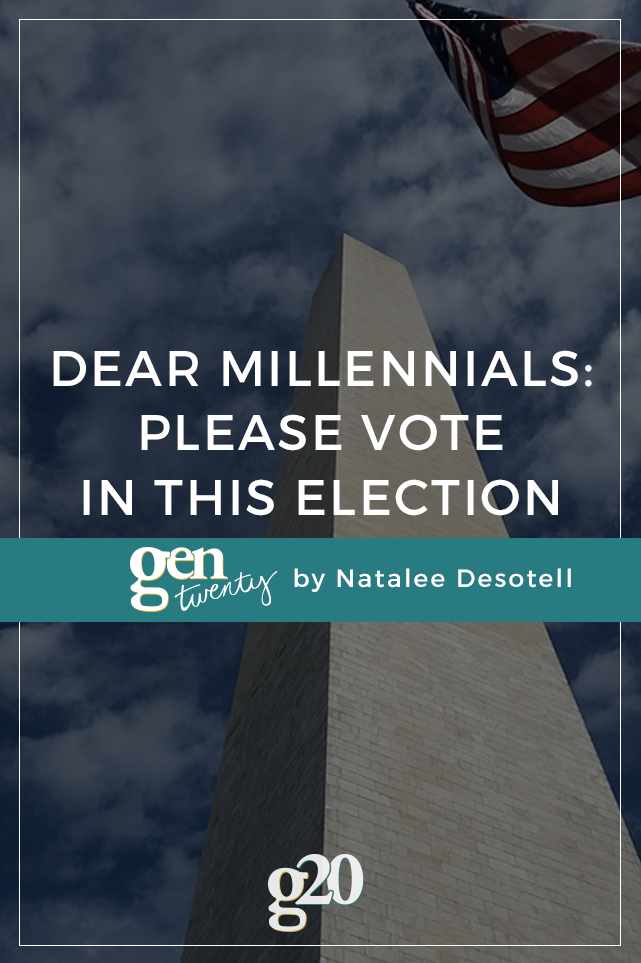 Dear Millennials: Please Vote In This Election