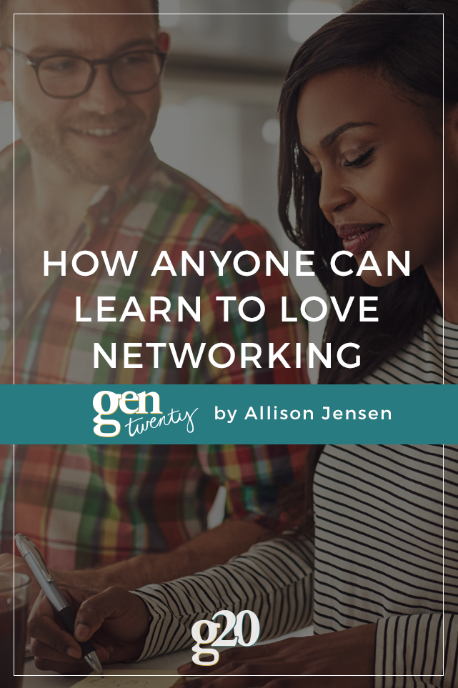 How Anyone Can Learn To Love Networking Events