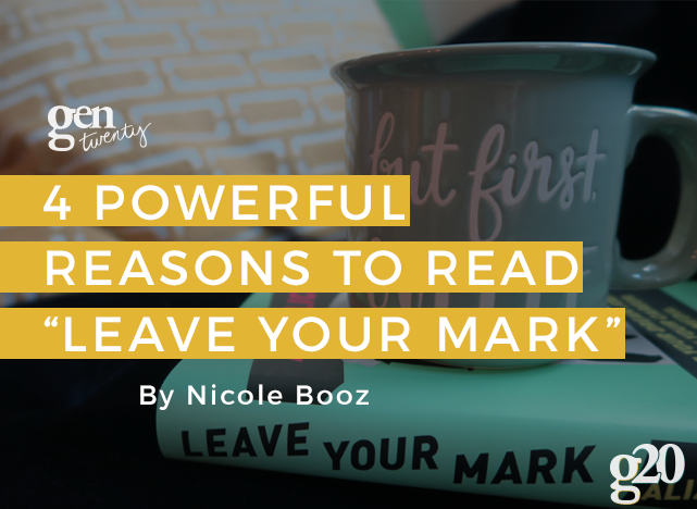 "G20Reads: 4 Reasons To Read Aliza Licht's ""Leave Your Mark"""