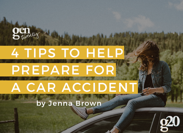 4 Tips To Prepare For a Car Accident