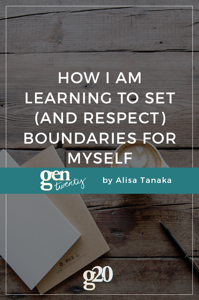 How I Am Learning To Set (And Respect) Boundaries For Myself