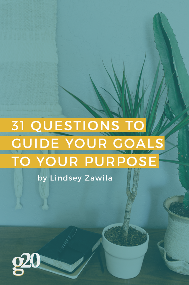 Guide Your Goals: 31 Heart-Centered Questions For Purposeful Living