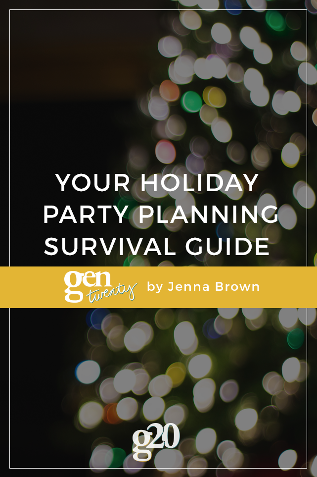 Holiday Party Planning Survival Guide