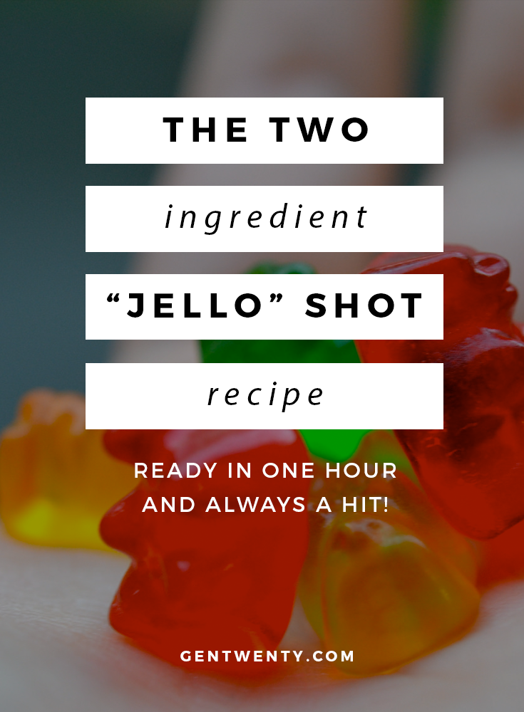 "#G20Eats: Two-Ingredient ""Jello"" Shot"
