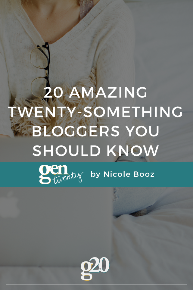 20 Amazing Blogs For Twenty-Somethings