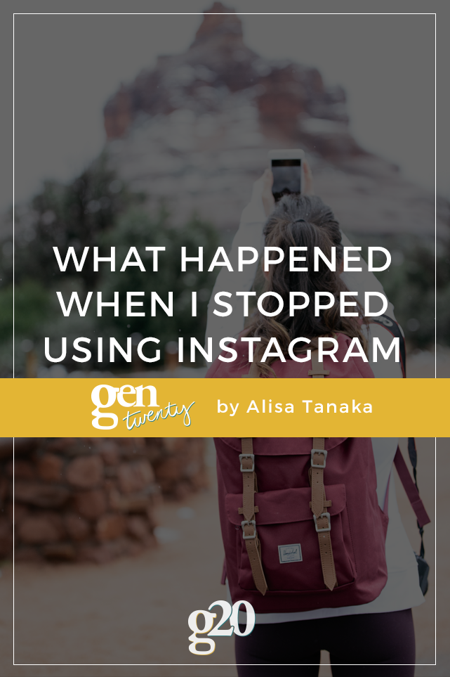 What Happened When I Quit Instagram for Two Weeks