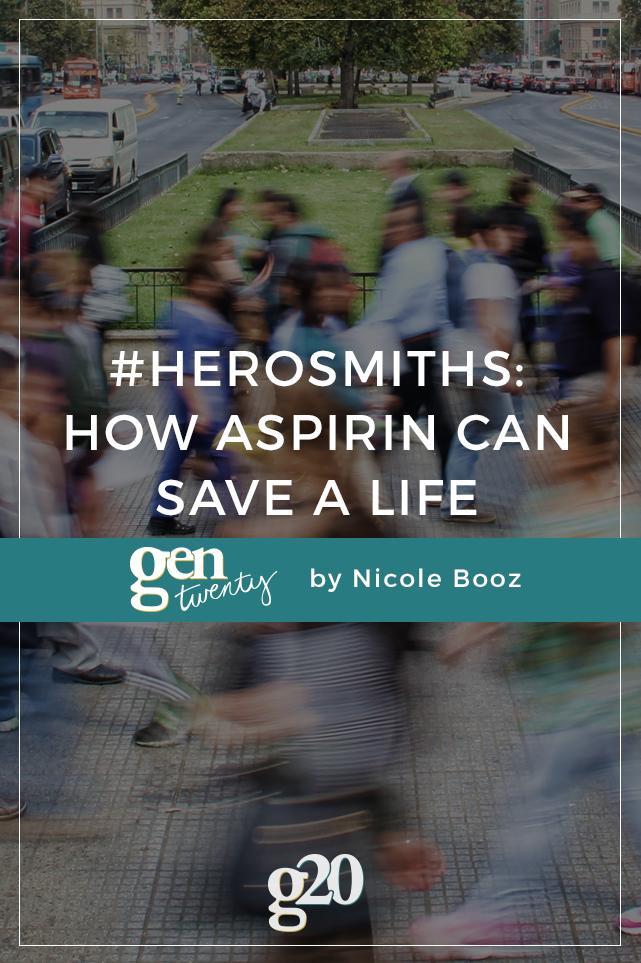 #HeroSmiths: How Aspirin Can Help Save a Life