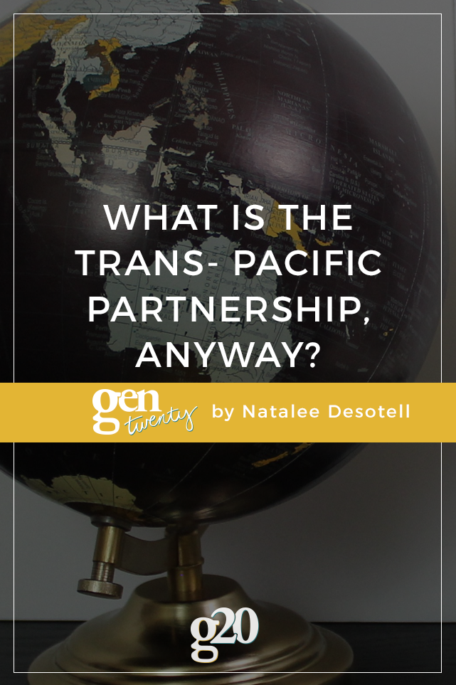 What Is the Trans-Pacific Partnership, Anyway?