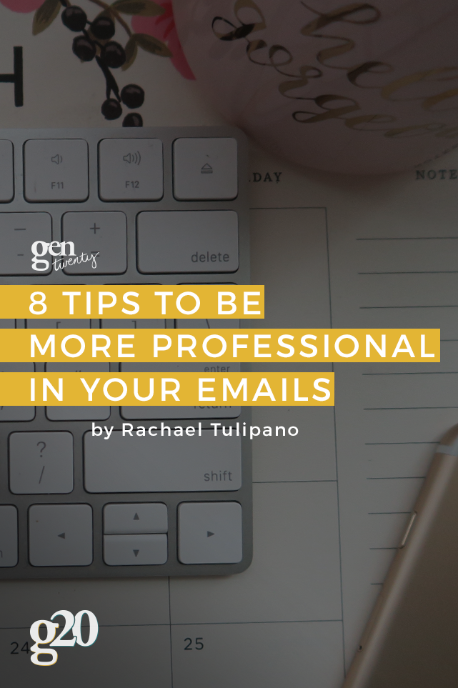 8 Tips to Be More Professional in Your Emails