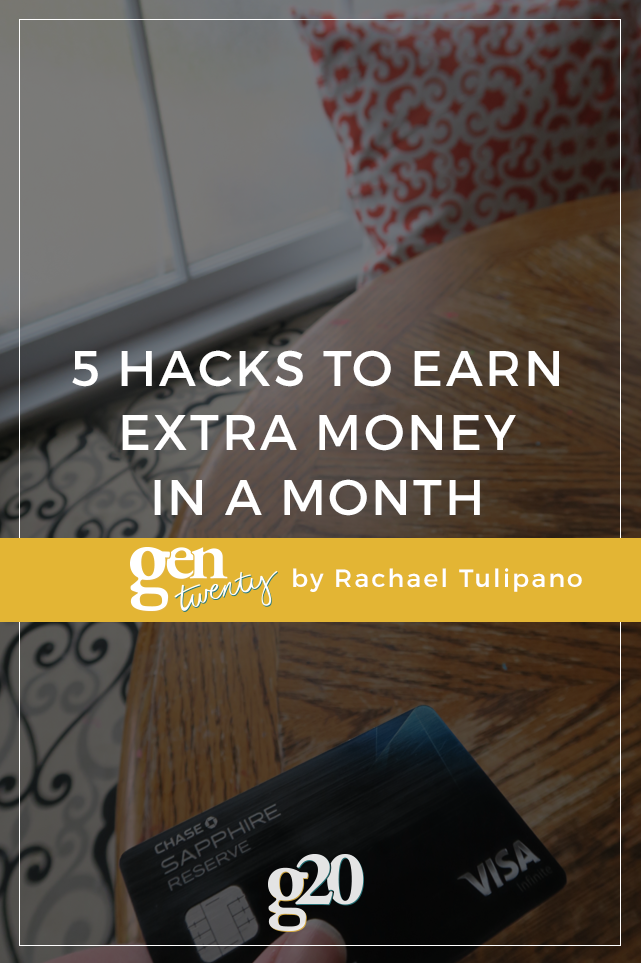 5 Hacks to Earn Extra Money In a Month
