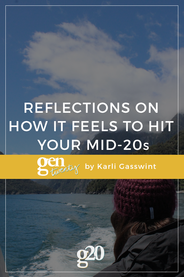 Note To Self: How It Feels To Hit Your Mid-20s