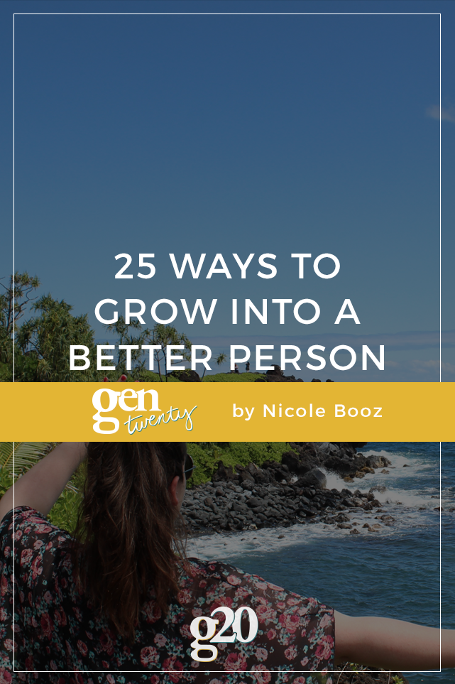 25 Ways Be a Better Person