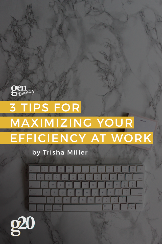 How to Maximize Efficiency in the Workplace