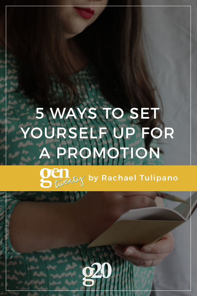 5 Ways To Set Yourself Up For a Promotion