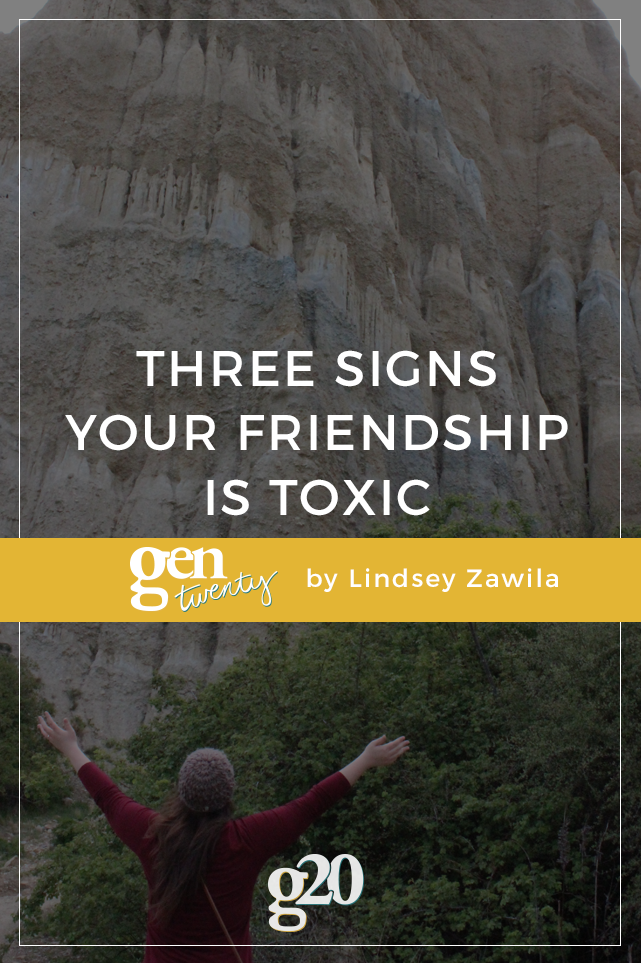 3 Signs of Toxic Friendships