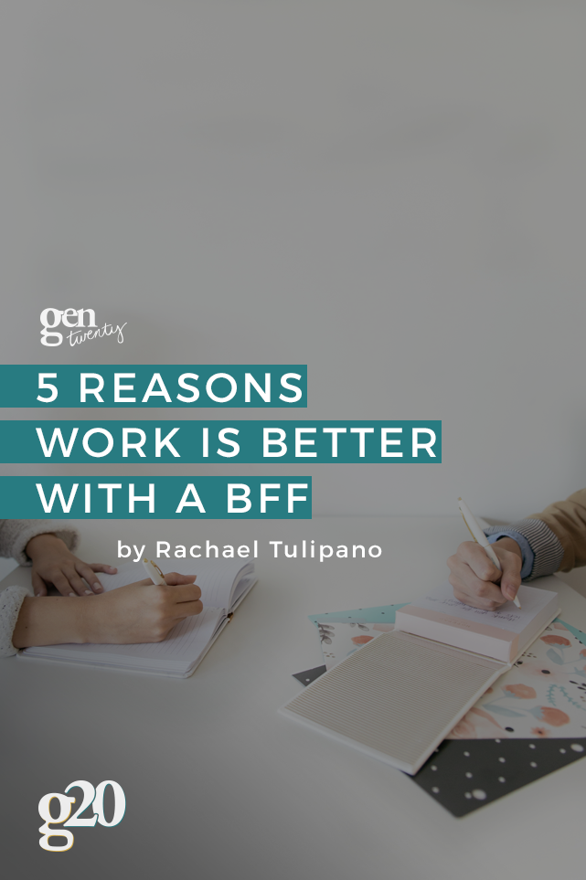 Shoutout to work BFF. How would I survive without you?