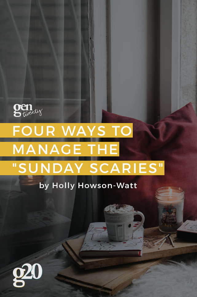 Sunday Scaries: Find yourself with a knot in your stomach on Sunday for the weekend ahead? Here's how to prepare yourself for the week.