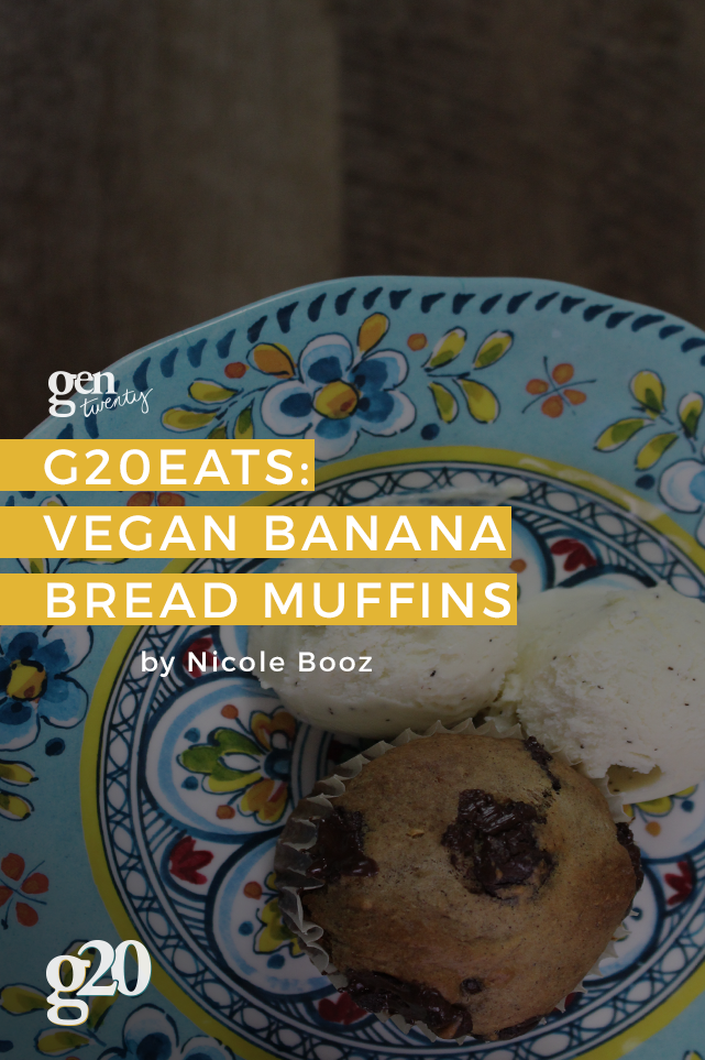 The easiest banana bread muffins you'll ever make!