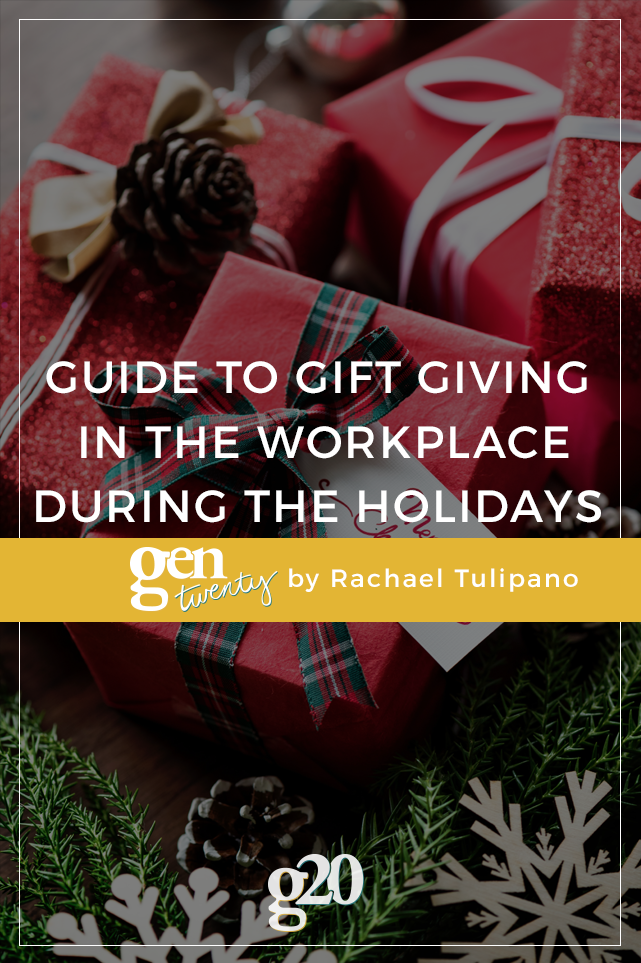 A Guide to Gift Giving in the Workplace During the Holidays