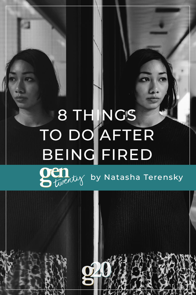 8 Things To Do After Being Fired