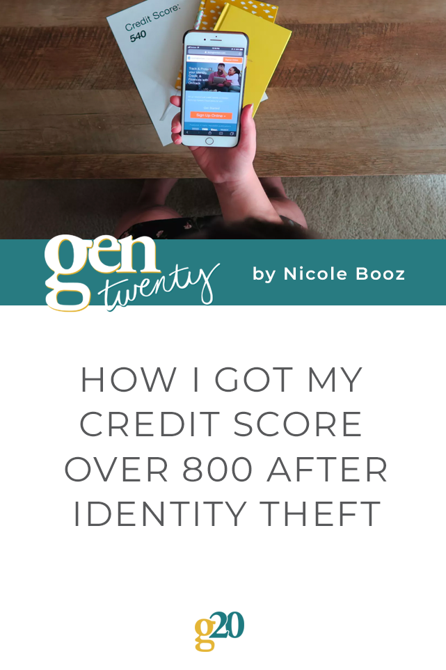 How I Got My Credit Score Over 800 After Identity Theft