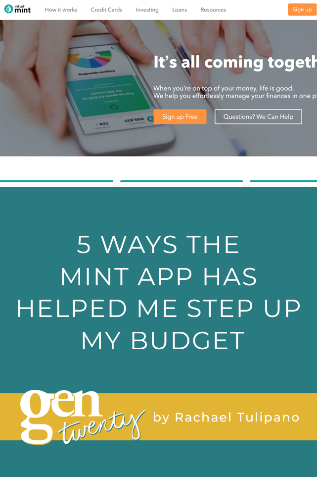 5 Ways The Mint App Has Helped Me Step Up My Budget