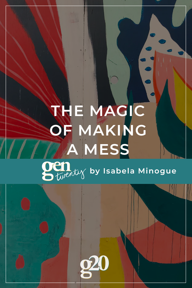 title photo: The Magic of Making a Mess