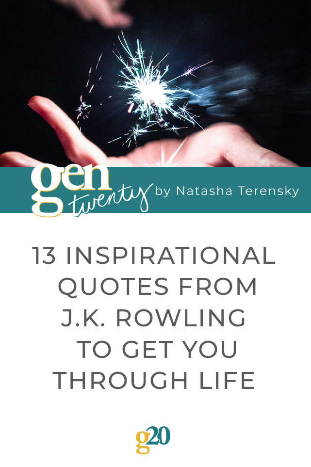 13 Inspirational Quotes from J.K. Rowling to Get You Through Life