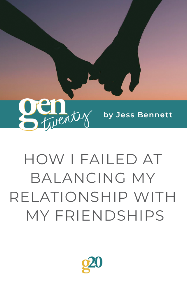 How I Failed at Balancing My Relationship With My Friendships