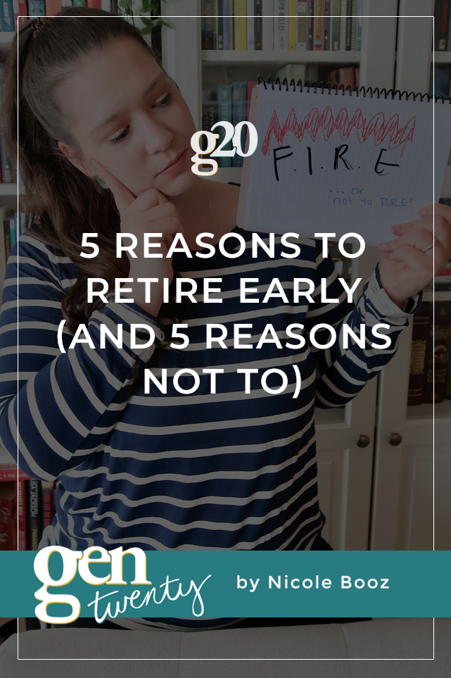 5 Reasons To Retire Early (And 5 Reasons Not To)