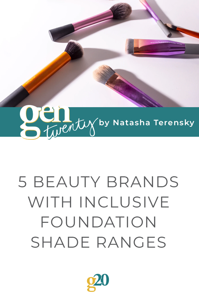 5 Beauty Brands With Inclusive Foundation Shade Ranges