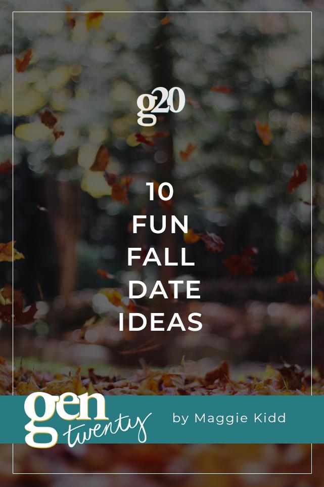 fun fall date ideas