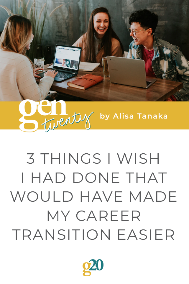 title photo: 3 Things I Wish I Had Done That Would Have Made My Career Transition Easier
