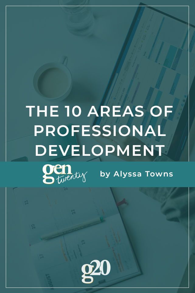 The 10 Areas of Professional Development