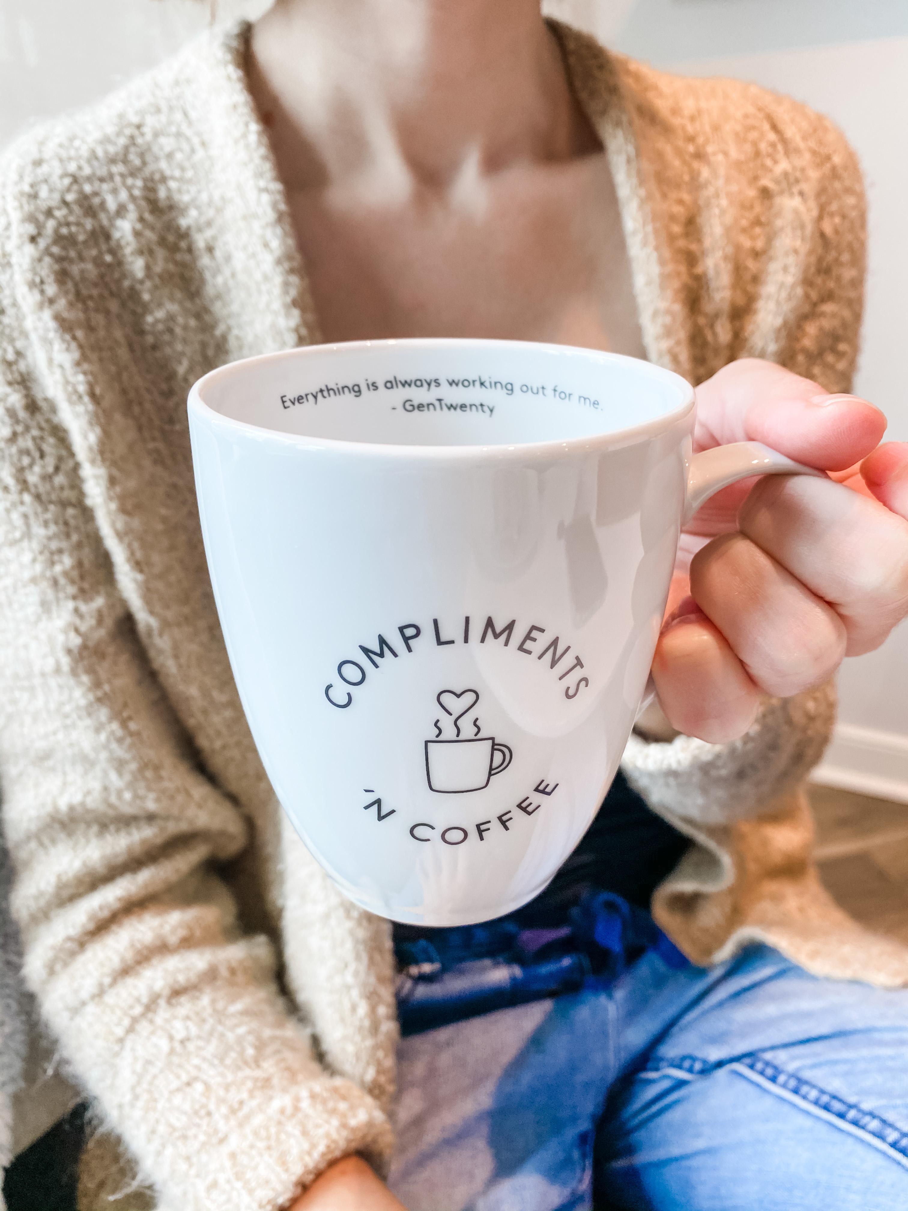 custom mug between gentwenty and compliments 'n coffee