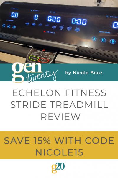 Echelon Fitness Stride Treadmill Review
