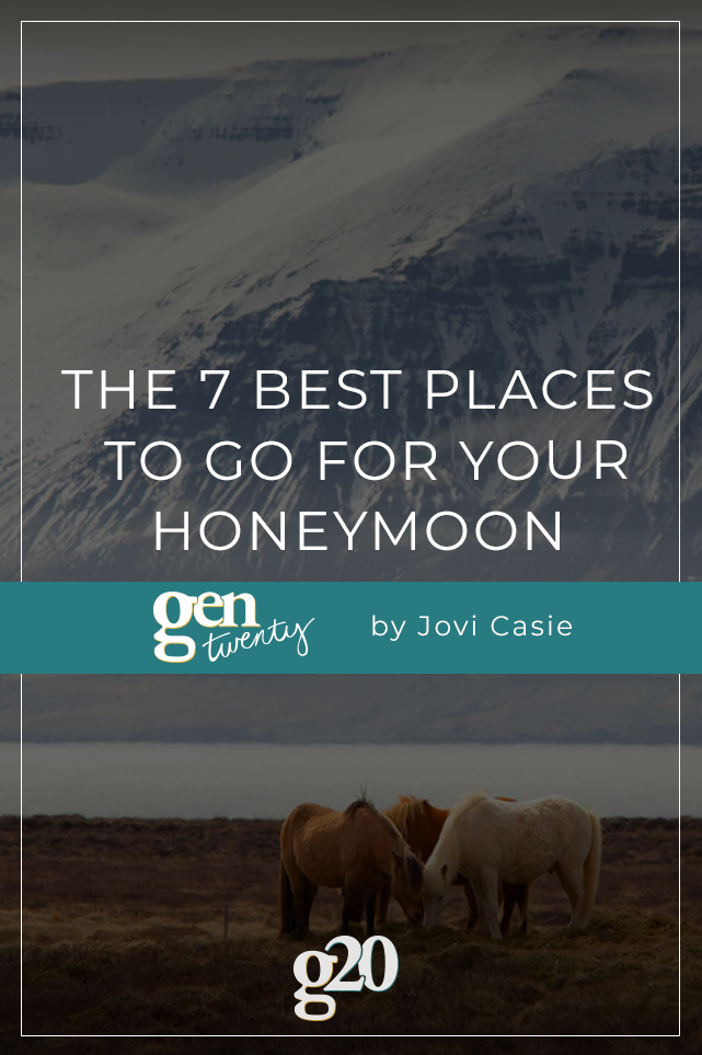 best places to go for your honeymoon
